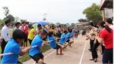 Lạng Giang: Khai mạc Giải Kéo co - Đẩy gậy - Bóng chuyền hơi