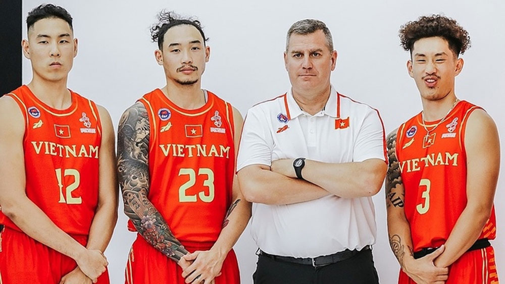Vietnam squad, national basketball league, SEA Games 31,  group stage,  Vietnam Basketball Association,  national team