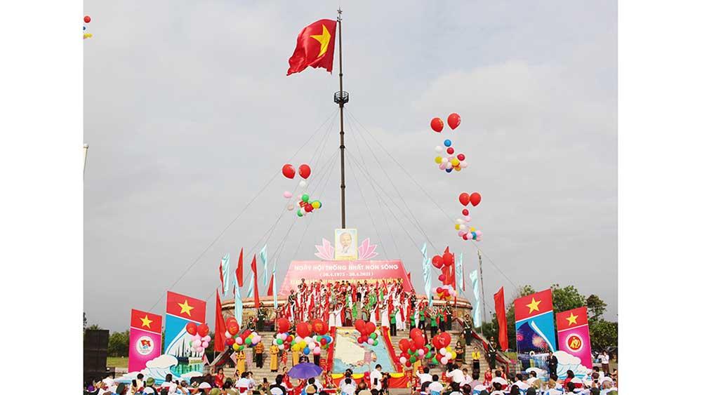 Lễ Thượng cờ , Thống nhất non sông,  Khu di tích lịch sử quốc gia đặc biệt, Đôi bờ Hiền Lương, Bến Hải