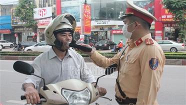 Bắc Giang: Ngày đầu nghỉ lễ, lập biên bản 123 trường hợp vi phạm giao thông
