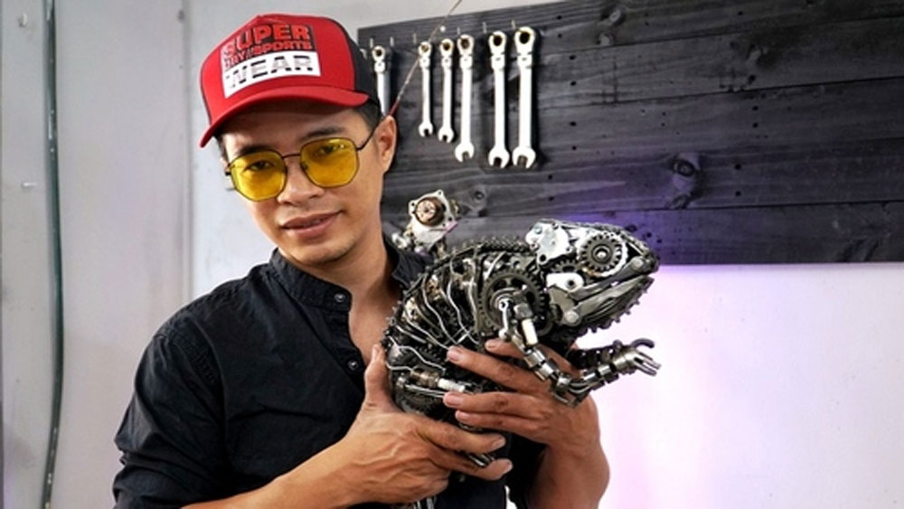Science fiction gets real in the hands of Saigon metal artist