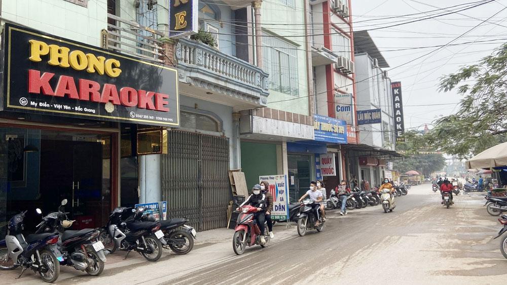 Việt Yên: Tạm dừng hoạt động các quán ăn, uống vỉa hè từ 12 giờ trưa ngày 3/5
