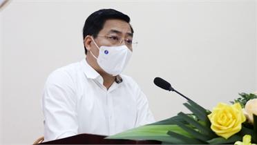 Bí thư Tỉnh ủy Dương Văn Thái tiếp xúc cử tri, vận động bầu cử tại TP Bắc Giang