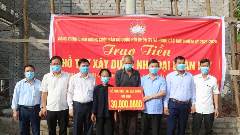 Sở nông nghiệp và PTNT, trao tặng hộ nghèo, xây nhà tình nghĩa, hộ nghèo