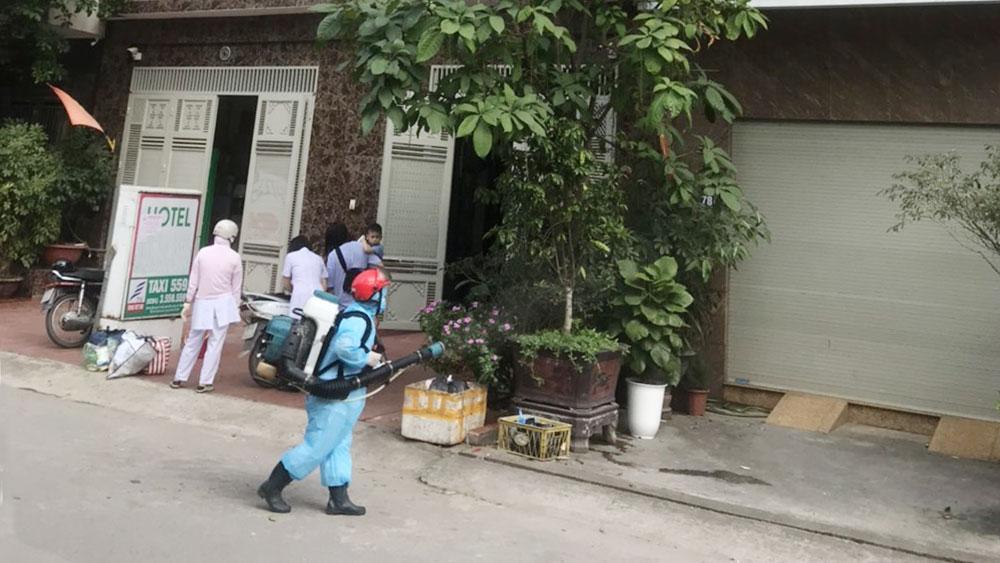 TP Bắc Giang, phòng dịch, hỗ trợ người dân, quán bar Sunny, Vĩnh Phúc