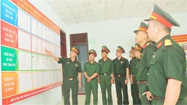 Cử tri quân đội chủ động, trách nhiệm cao