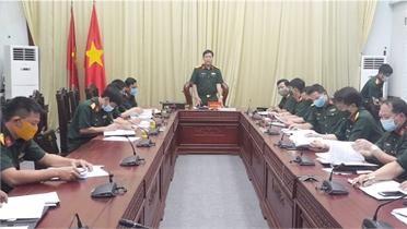 Kiểm tra công tác chuẩn bị bầu cử tại Bộ CHQS tỉnh Bắc Giang