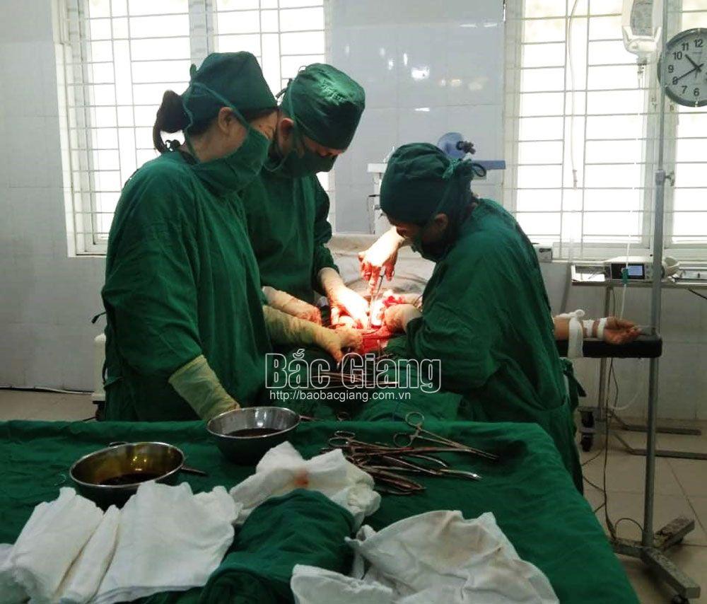 phẫu thuật, khối u, phụ khoa, Sơn Động