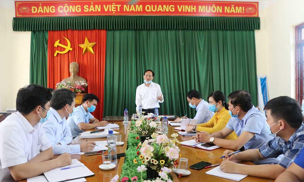 Lục Ngạn, bầu cử, ban thường vụ tỉnh ủy, làm việc, hội nghị