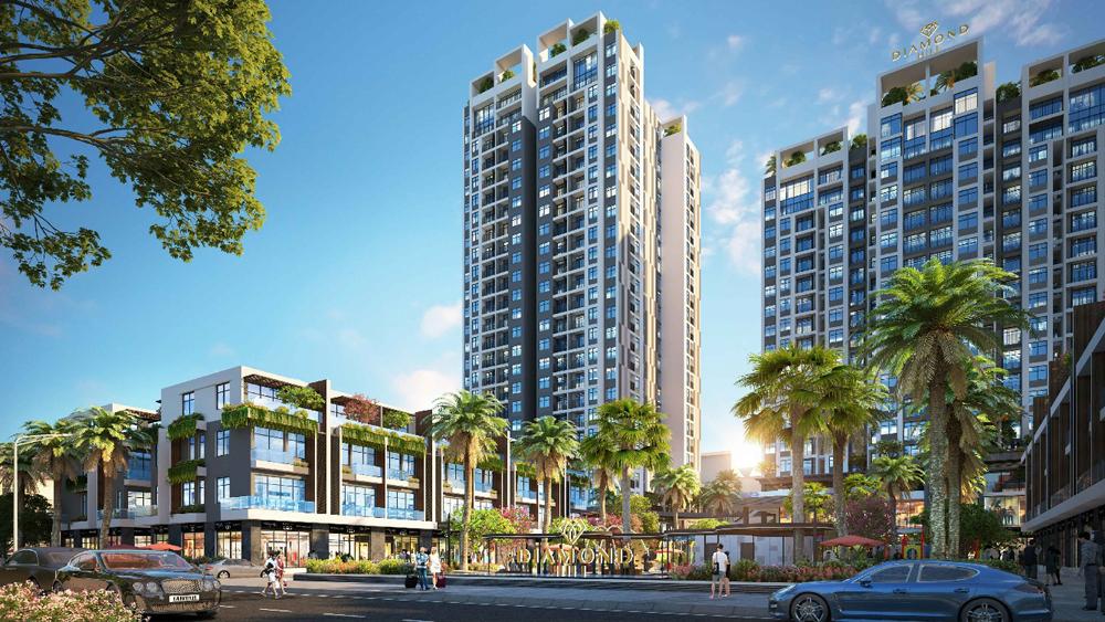 Bất động sản, Bắc Giang, dự án cao cấp, sở hữu, tiện ích, Bách Việt, BV Diamond Hill
