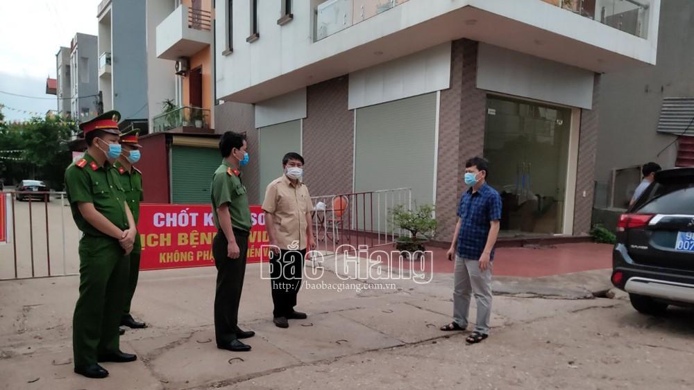 Bắc Giang, Nhanh chóng, lập 8 chốt, kiểm soát dịch, tại xã Phương Sơn, Lục Nam, covid-19