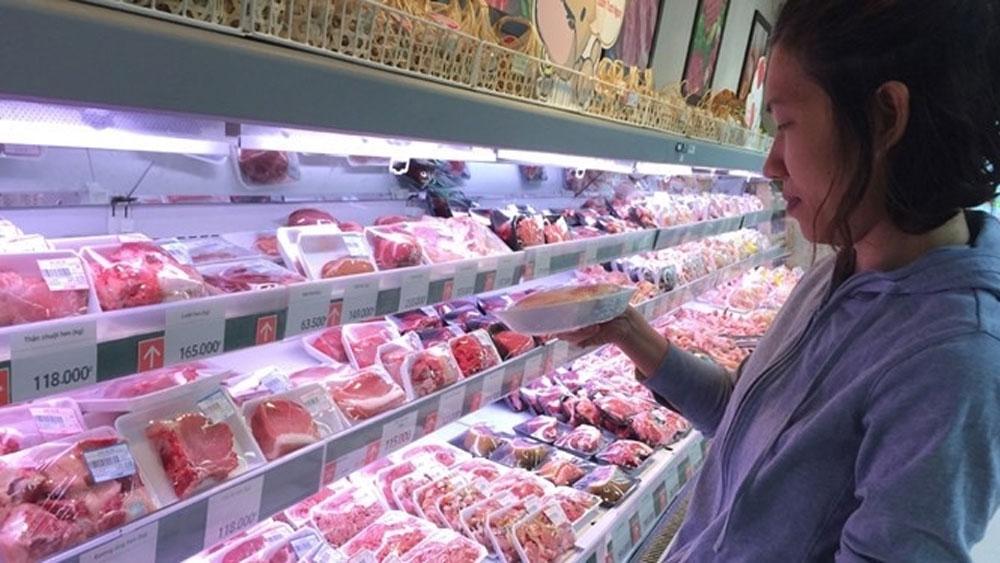 Bolstering pork exports, great pig farming potential, total pig herd size, modest figure, pork export value, total hog production