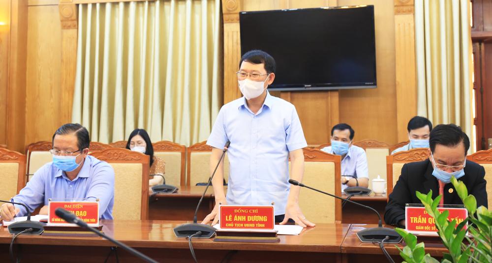 Bắc Giang, vải thiều, Chủ tịch UBND tỉnh, Lê Ánh Dương