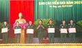 Trường Quân sự trao 6 giải cho thí sinh xuất sắc hội thi báo cáo viên giỏi