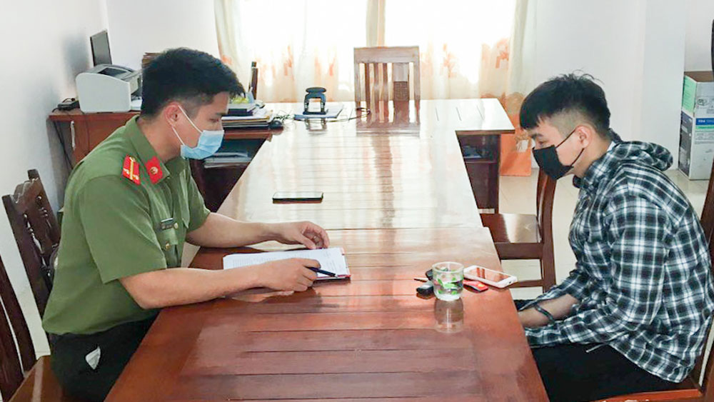 bị phạt 7,5 triệu đồng, Song Vân, Tân Yên, Bắc Giang