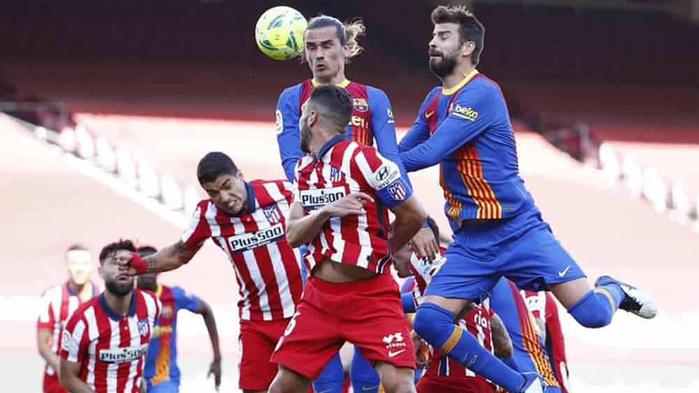 Barca và Atletico níu chân nhau