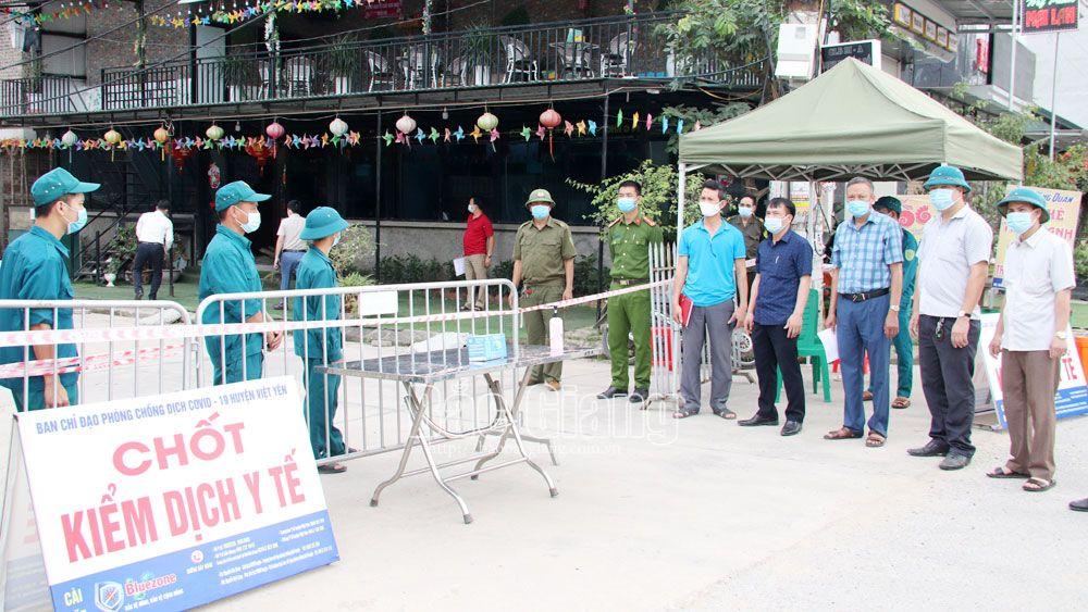 Bắc Giang: Kiểm soát chặt khu vực công nhân nhiễm Covid-19 thuê trọ