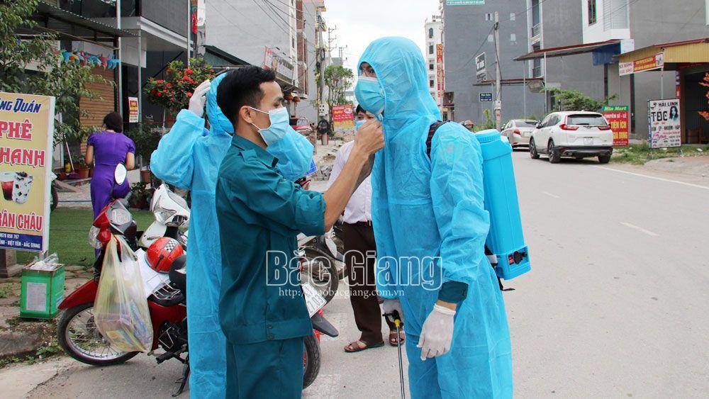 Bắc Giang, Huyện Việt Yên, Dịch covid-19, phong tỏa khu vực có người nhiễm Covid-19, Phong tỏa, Công ty TNHH Shinyoung Việt Nam, Khu công nghiệp Vân Trung