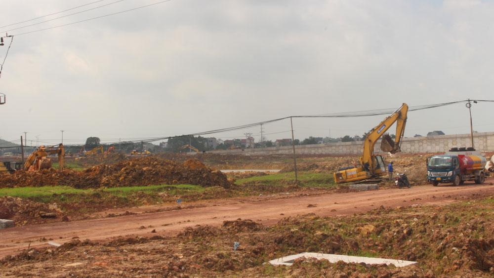 đất nền; bất động sản; chuyển nhượng; Bắc Giang
