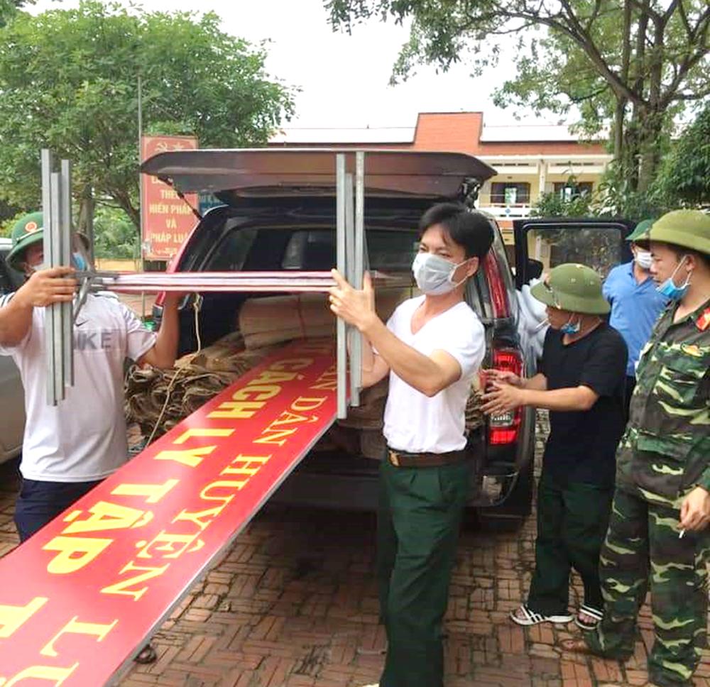 Bộ CHQS tỉnh Bắc Giang, Covid-19, triển khai quyết liệt, kịp thời các biện pháp phòng, chống dịch