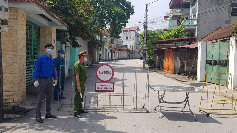 TP Bắc Giang, bệnh nhân Covid-19, phường Dĩnh Kế, lập chốt kiểm soát dịch