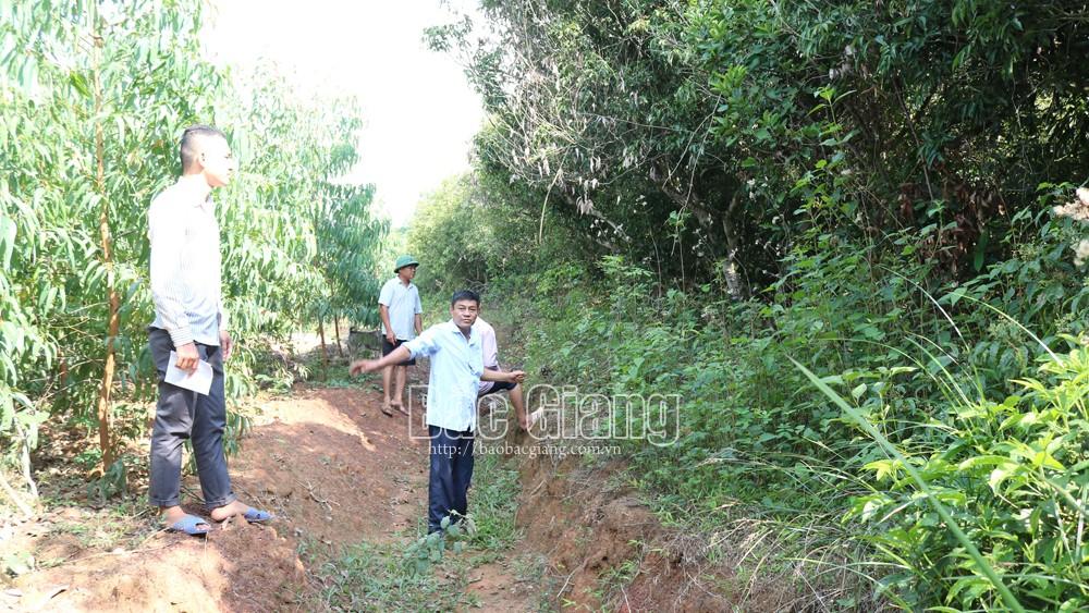 Xã Tam Dị (Lục Nam): Lại đặt mộ sát khu dân cư