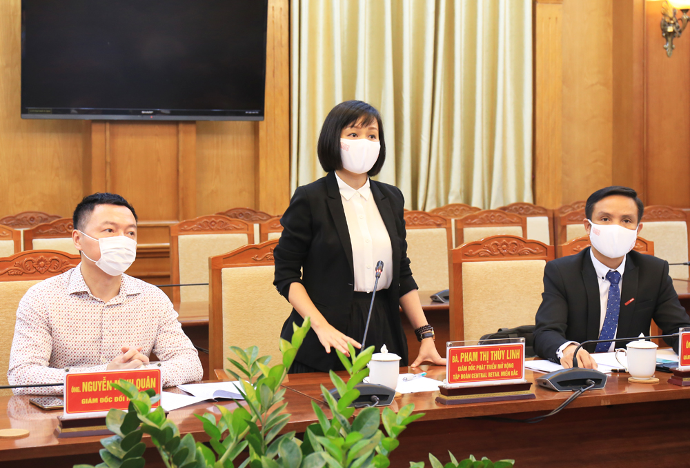 Bac Giang province, signs cooperation agreement, lychee consumption, Central Retail Group, Covid-19 pandemic