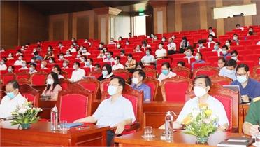 TP Bắc Giang dừng tiếp xúc cử tri qua hình thức tổ chức hội nghị tập trung