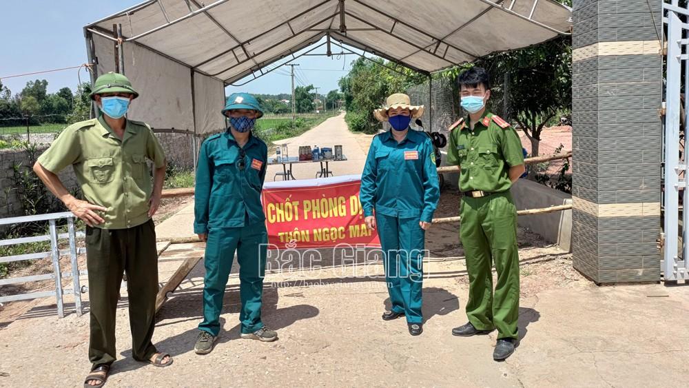 Bắc Giang, Thiết lập vùng cách ly y tế, giãn cách xã hội, phòng, chống dịch Covid-19, một số khu vực, huyện Lục Nam