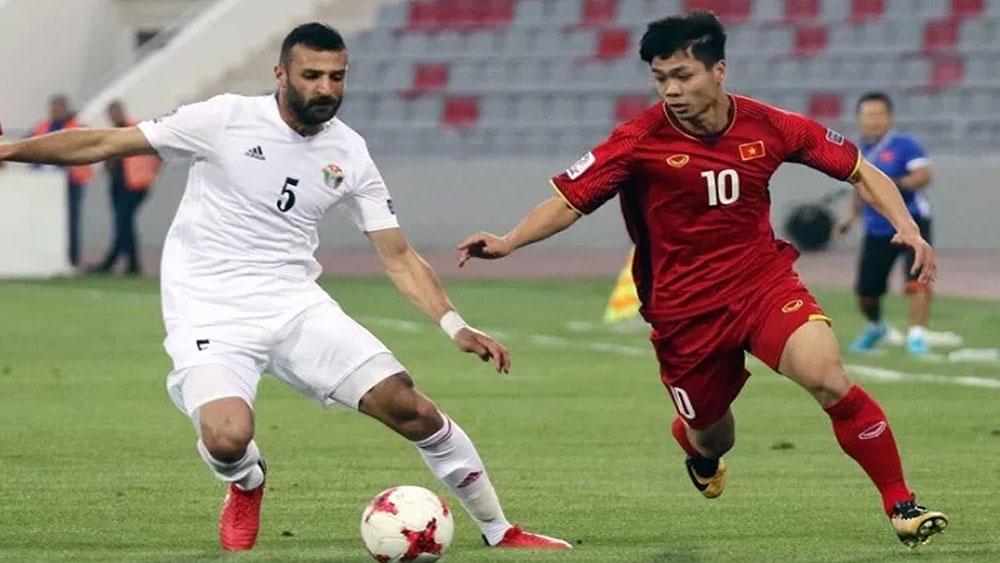 Vietnam, play friendly, Jordan, World Cup qualifiers, Coach Park Hang-seo, second round, FIFA World Cup