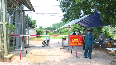 Bắc Giang thực hiện nghiêm các quy định bên trong các khu vực cách ly