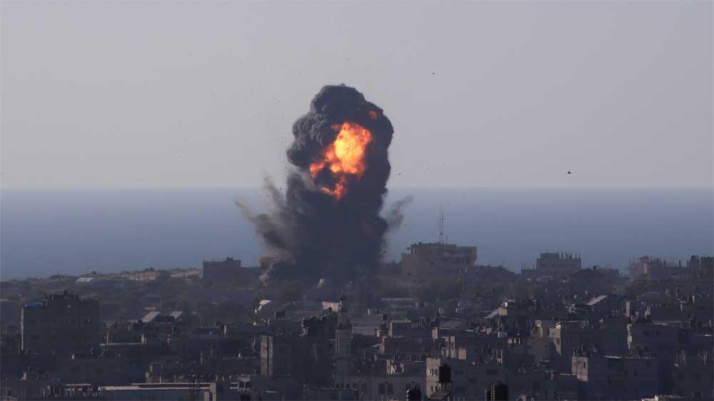 Israel, bắt đầu, triển khai , lực lượng tấn công Gaza
