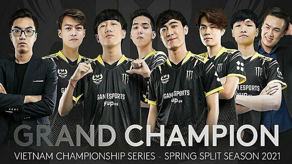 US gaming company, Vietnamese esports team, League of Legends,  national champions, GAM Esports, esports activities