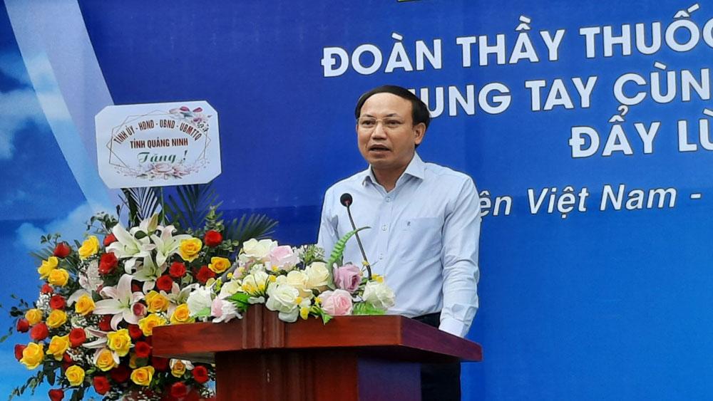 Quảng Ninh, Bắc Giang, Covid-19, xuất quân, chống dịch.
