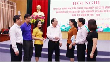 Phó Chủ tịch Ủy ban MTTQ tỉnh Diêm Hồng Linh: Tất cả đã sẵn sàng cho ngày bầu cử