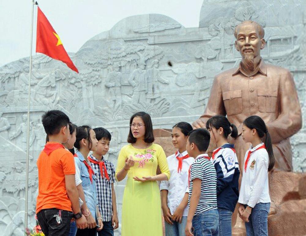 Vun đắp tình yêu quê hương, truyền thống cách mạng, huyện Tân Yên
