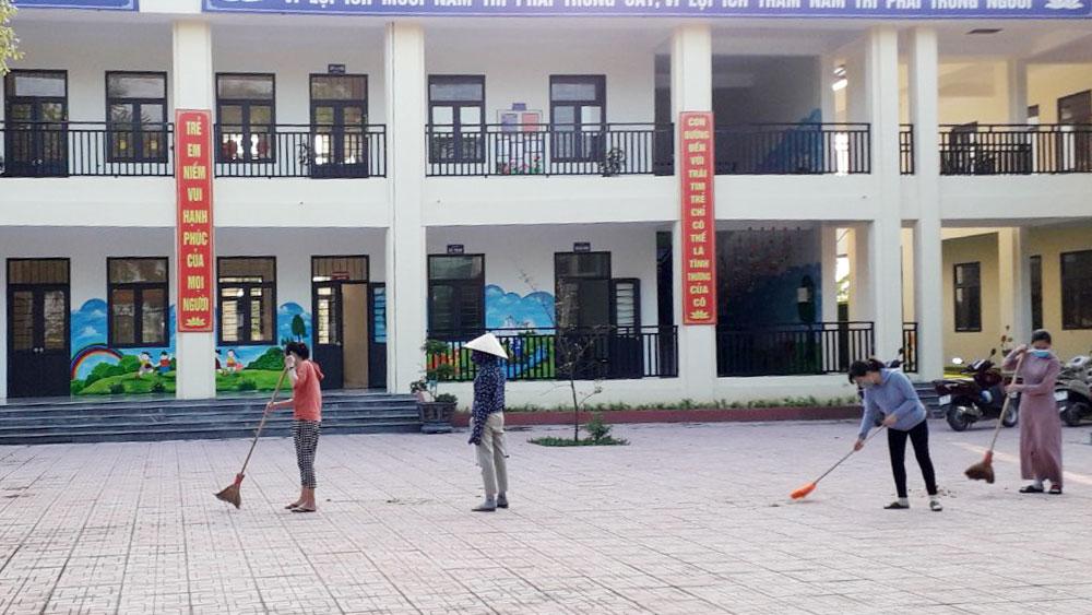 Việt Yên: 27 điểm cách ly tập trung, quy mô đáp ứng 5 nghìn người