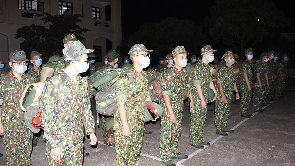 Bắc Giang, Bộ CHQS tỉnh, Học viện Quân y hỗ trợ phòng, chống Covid-19