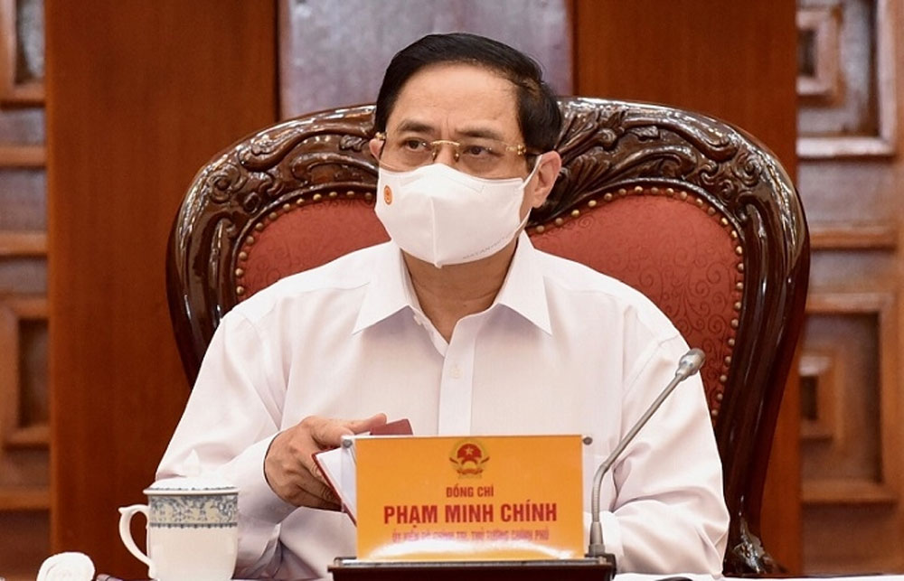 PM, Pham Minh Chinh, swift and drastic approach, drive back Covid-19, Covid-19 testing, socio-economic development