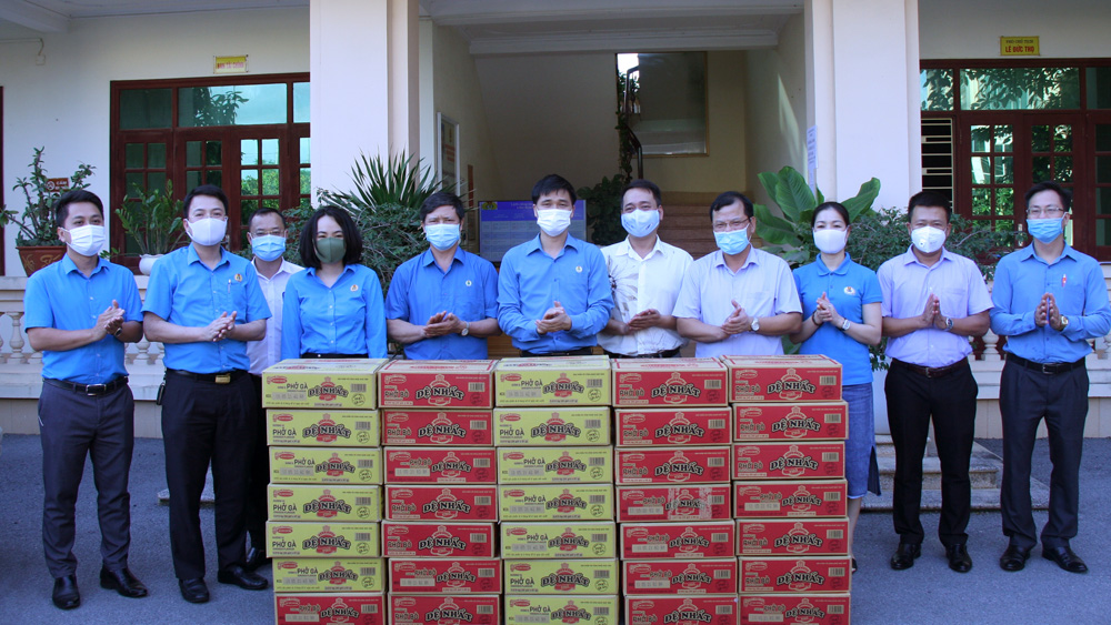 Organization and individuals, 40 billion VND, Bac Giang province, Covid-19 fight, Covid-19 prevention and control, cash and medical supplies