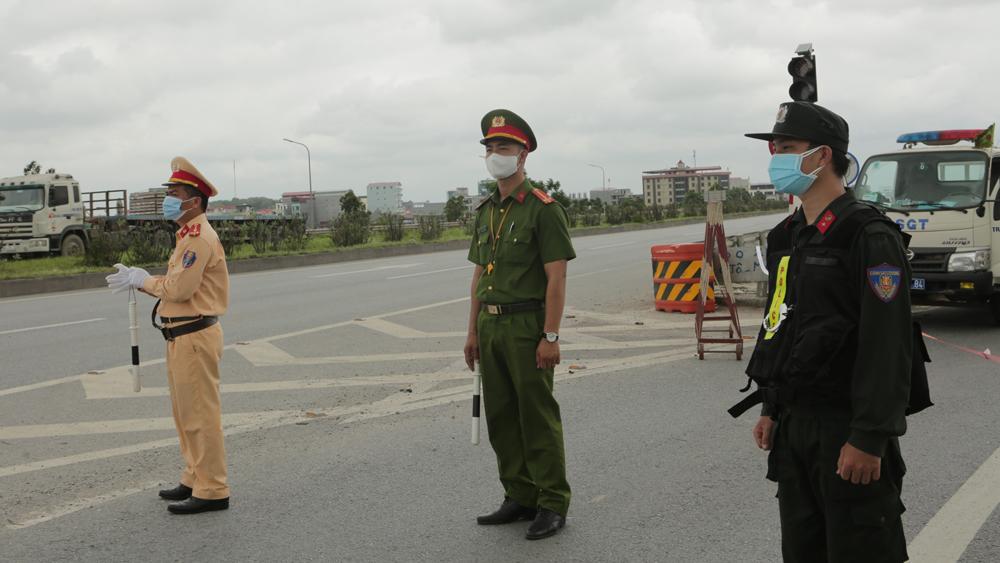 Phân luồng giao thông tại huyện Việt Yên, Yên Dũng