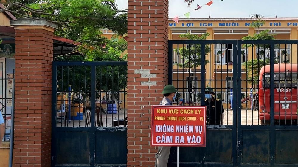 Bắc Giang, Covid19, cách ly xã hội, 3 huyện