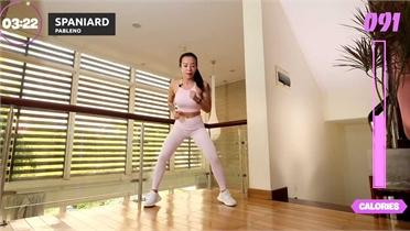 Bài nhảy aerobics trong nhà giúp đốt 200 calo trong mùa dịch