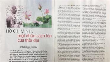 Kỷ niệm 131 năm Ngày sinh Chủ tịch Hồ Chí Minh: Càng khắc sâu nhân cách vĩ đại của Bác