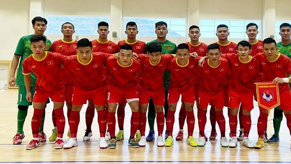 National futsal team, beat Iraq, World Cup playoff prep, Futsal World Cup, exhibition match,  experienced players