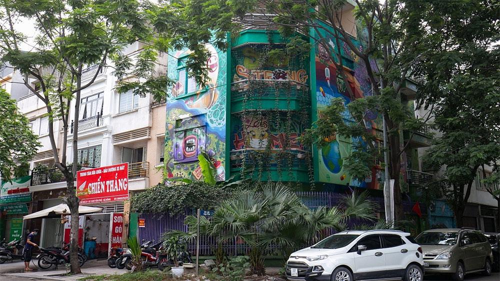 Hanoi villa inspired by Covid-19 battle