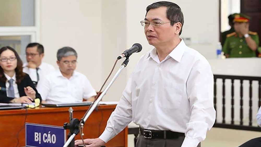Cựu Bộ trưởng Bộ Công Thương Vũ Huy Hoàng xin đổi tội danh