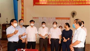 Bí thư Tỉnh ủy Dương Văn Thái: Lục Ngạn cần tập trung cao cho công tác bầu cử  và tiêu thụ vải thiều