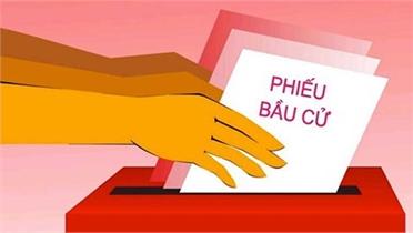 Quy trình 6Đ cử tri thực hiện khi đi bầu cử