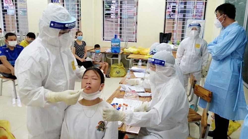 Tăng khả năng, thu dung, điều trị, bệnh nhân Covid-19 ở Bắc Giang